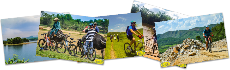 HE.MTB IND. indiana MTB ride in Hoi An
